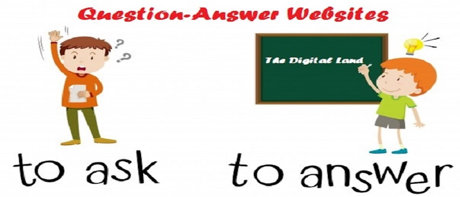 Top-20-Question-Answer-Sites