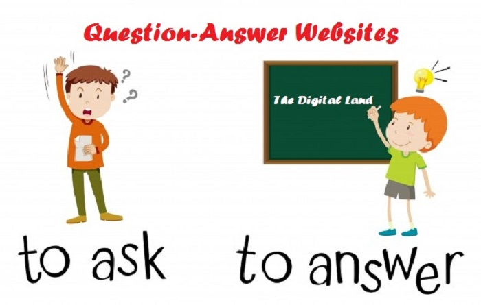 Top 20 Question-Answer Sites 2018 – List of High PR Sites